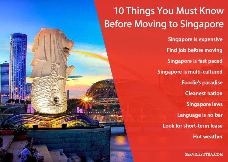 Things you must know before moving to Singapore