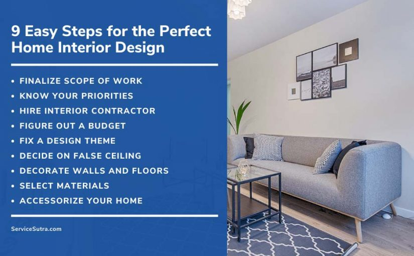 9 Easy Steps for the Perfect Home Interior Design