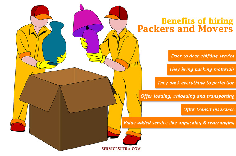 Hiring Movers 10 benefits of hiring movers and packers in india