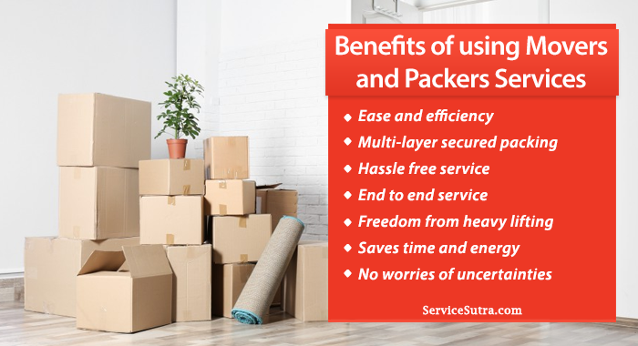 Amazing Benefits of Using Packers and Movers Over Moving It Yourself