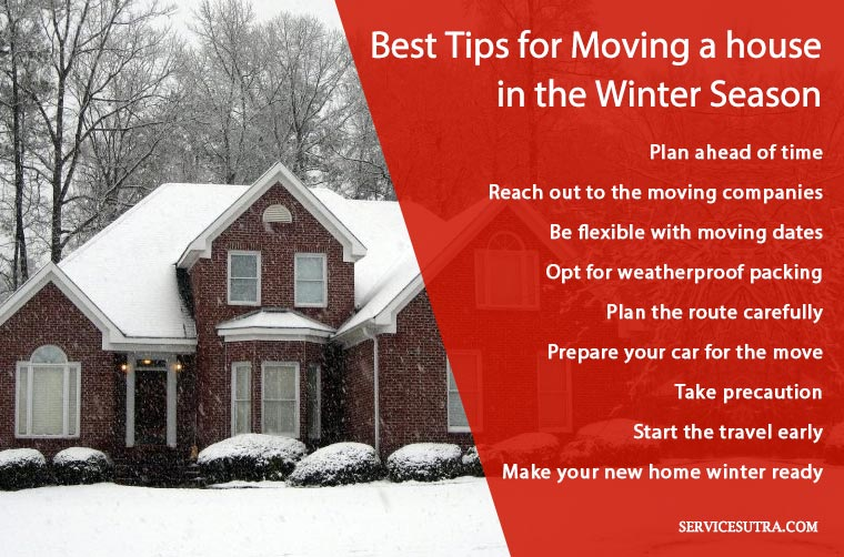 Best tips for moving in winter season
