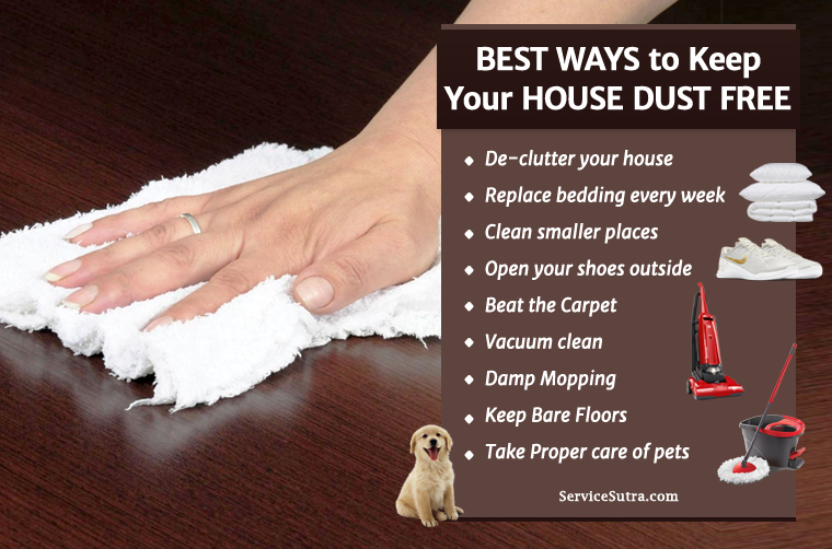 Easy Ways To Keep Your House Dust Free Home Improvement Tips