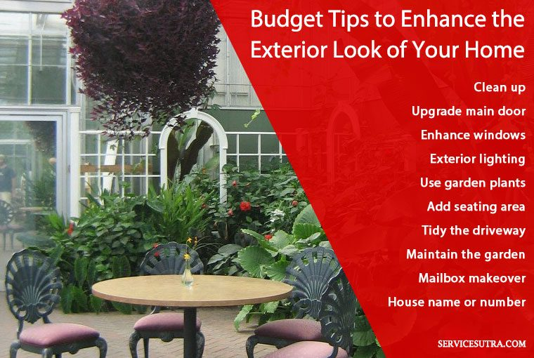 10 Budget Ways to Enhance the Exterior Look of Your Home