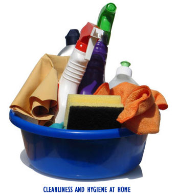 Ways to maintain cleanliness and hygiene at home