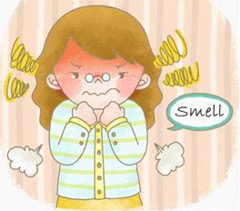 Get rid of kitchen smells