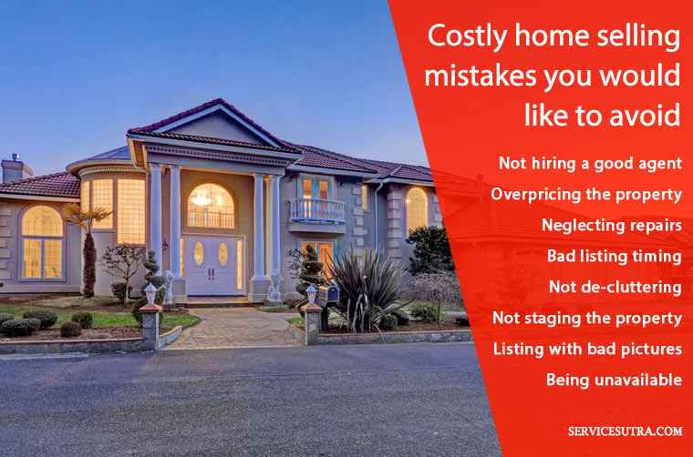 Common Home Selling Mistakes to Avoid to Get Better Deal