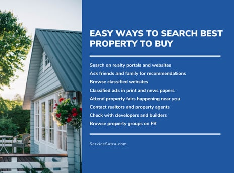 Easy ways to search best property to buy