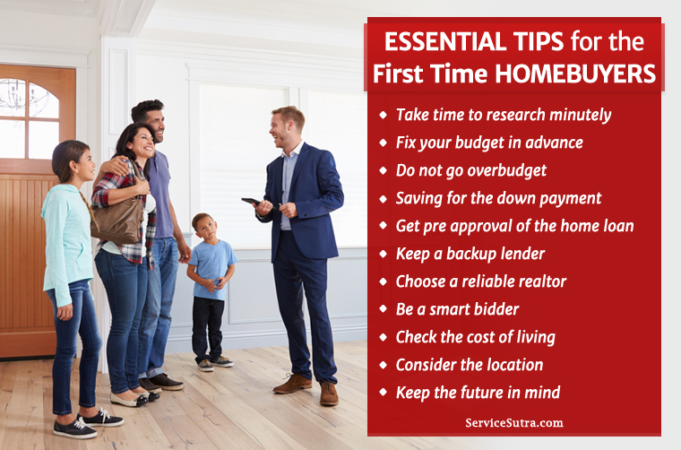 13 Essential Tips for the First Time Home buyers worth Knowing