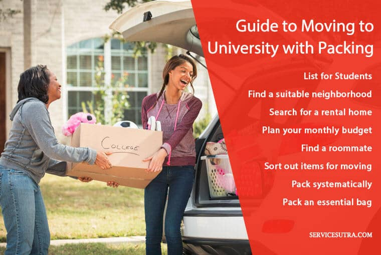 Students moving guide to moving to university