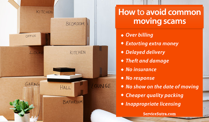 How to Prevent Getting Scammed by Movers and Packers