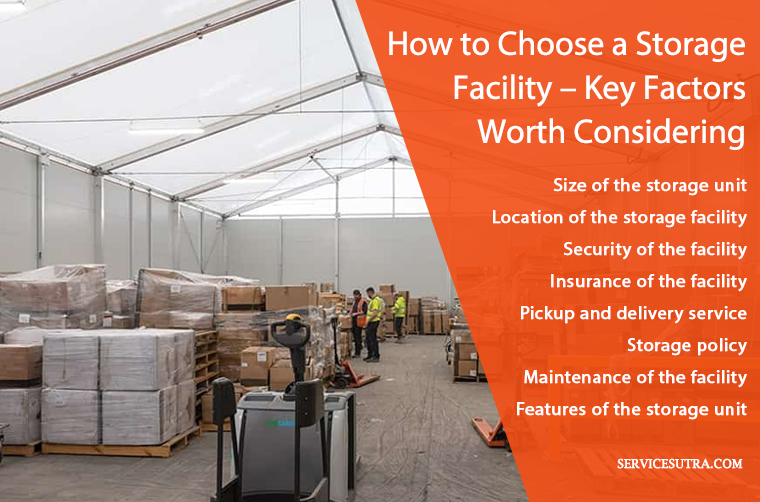 How to choose a storage facility - key factors worth knowing