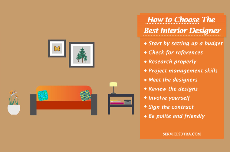 How to choose the best interior designer in bangalore Choosing an interior designer