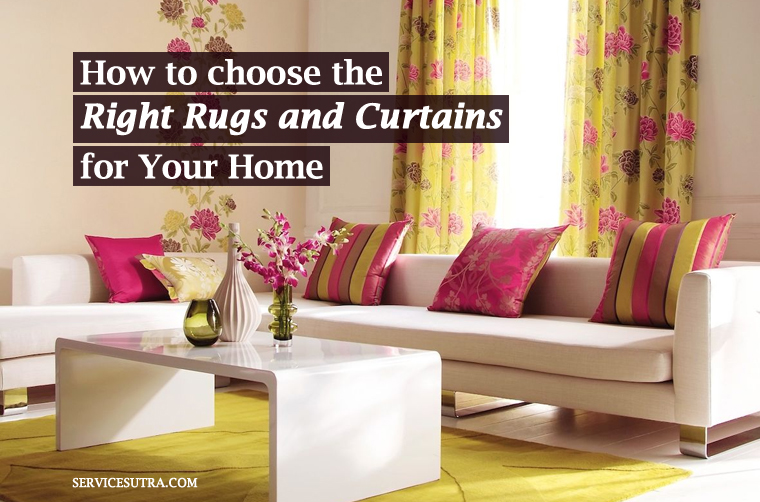 How To Pick Curtains And Rugs