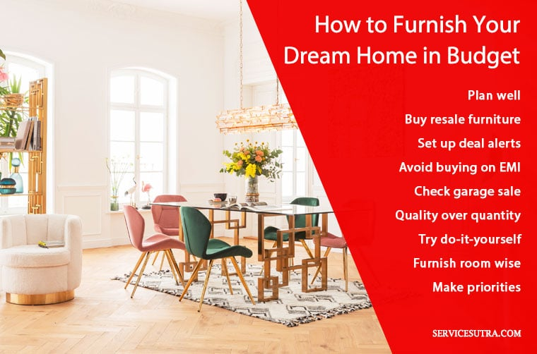 Furnish Your Dream Home Easily In Budget, Dream Home Furniture