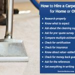 How to Hire a Carpet Cleaner for Carpet Cleaning Services