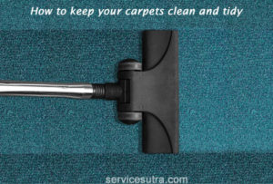 How to keep the carpets clean and tidy