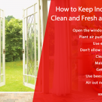 How to Keep Indoor Air Clean and Fresh at Home