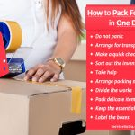 Moving In a Hurry? Here's How to Pack For a Move in One Day