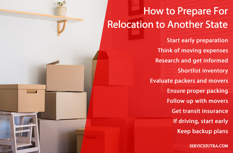 How to prepare for relocation to another state safely