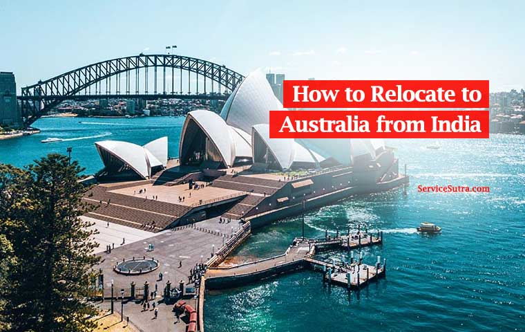 How to relocate to Australia from India