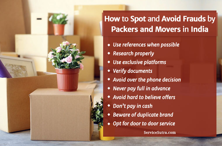 How to Spot and Avoid Frauds by Packers and Movers in India