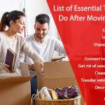 18 Essential Things to Do After Moving - Tips to Settle Easily