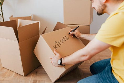 move just a few of smaller household items