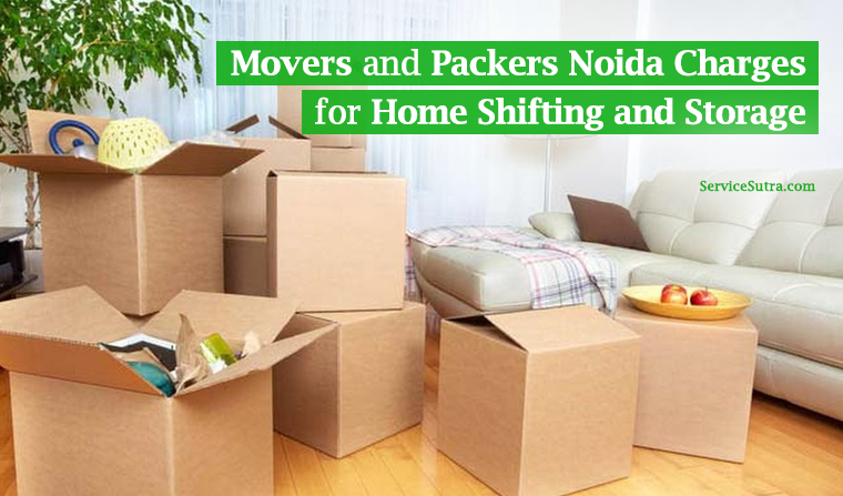 Movers and Packers Noida Charges for Shifting and Storage