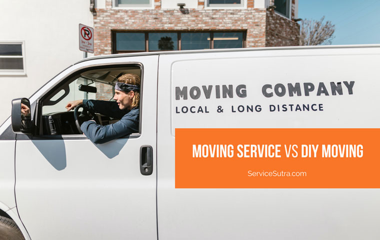 Contacting A Moving Service Vs Moving Yourself: Pros and Cons