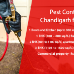 Rates and Charges of Pest Control Services in Chandigarh