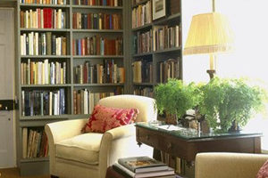 Using spare room as Library or Reading Room
