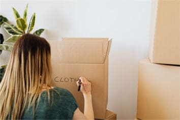 Should I arrange a self move to move my belongings?