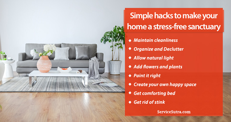 8 Amazing Ways to Make Your Home a Stress-Free Sanctuary