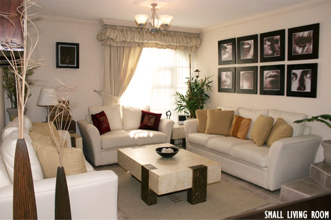 Simple Tricks To Decorate Small Living Room