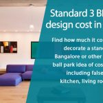 3 BHK Interior Design Cost in Bangalore - Here's How to Calculate the Cost