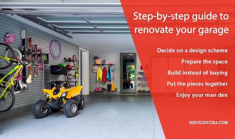 Step-by-step guide to renovate your garage