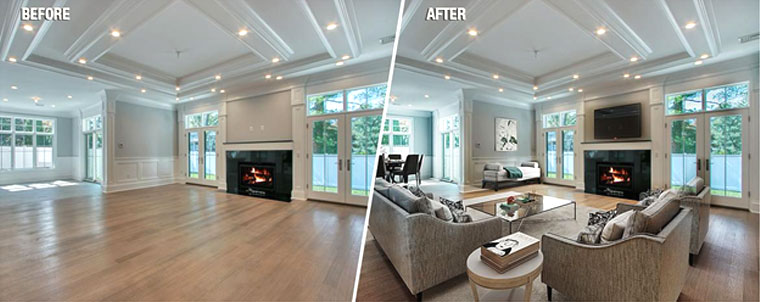 The power of virtual staging to quickly sell your property