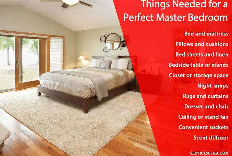 17 Essential Things Needed for a Perfect Master Bedroom