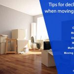 Tips for decluttering when moving a house