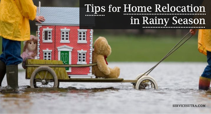 Home Relocation in Rainy Season: Here's How to Get It Right
