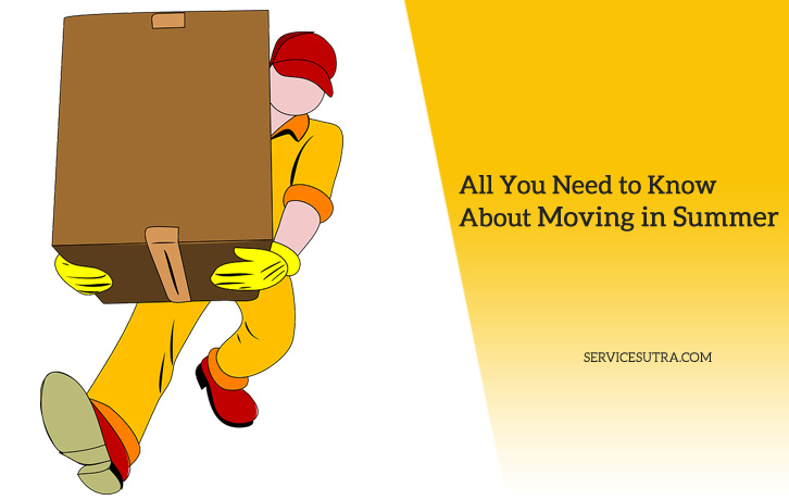 11 Tips for Packing and Moving House in Summer Safely