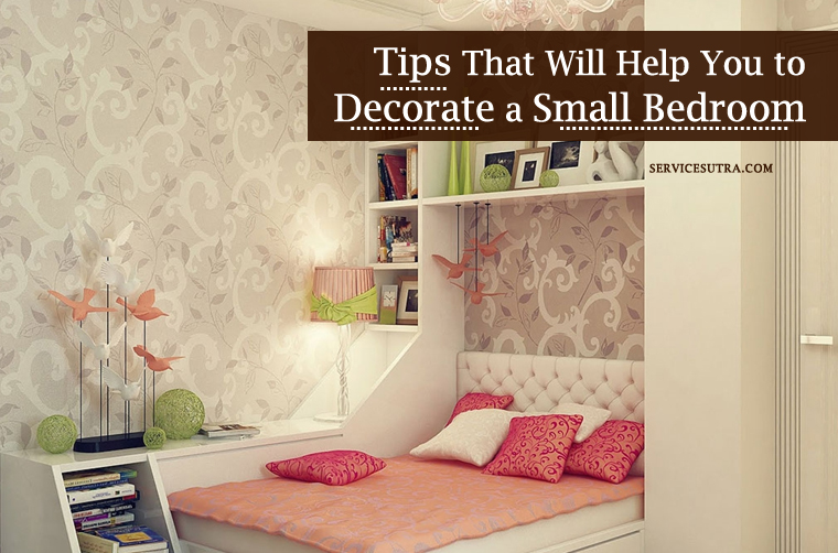 37 tips that will help you to decorate a small bedroom for Help decorate my bedroom