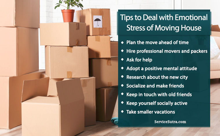 How to Deal With Emotional Stress of Moving House to a New City