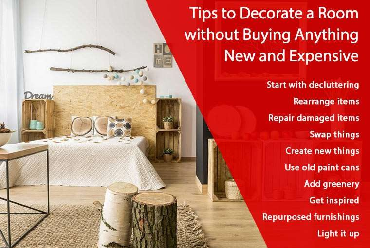 How to Decorate a Room without Buying Anything New and Expensive