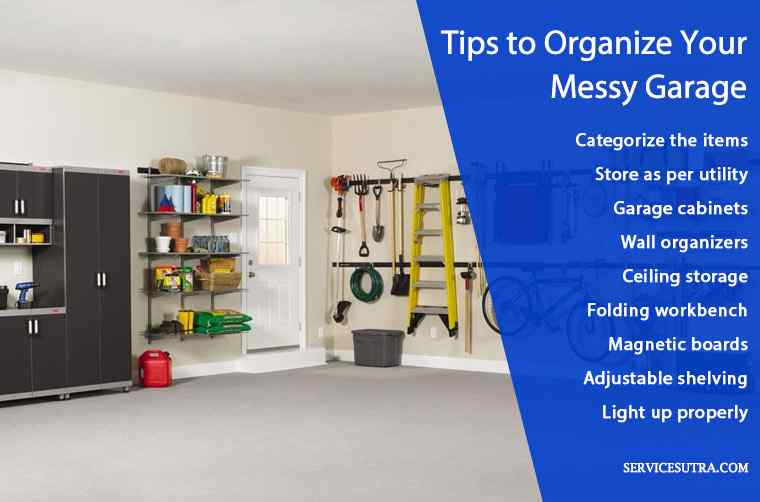 How to Organize your Messy Garage and Create More Space