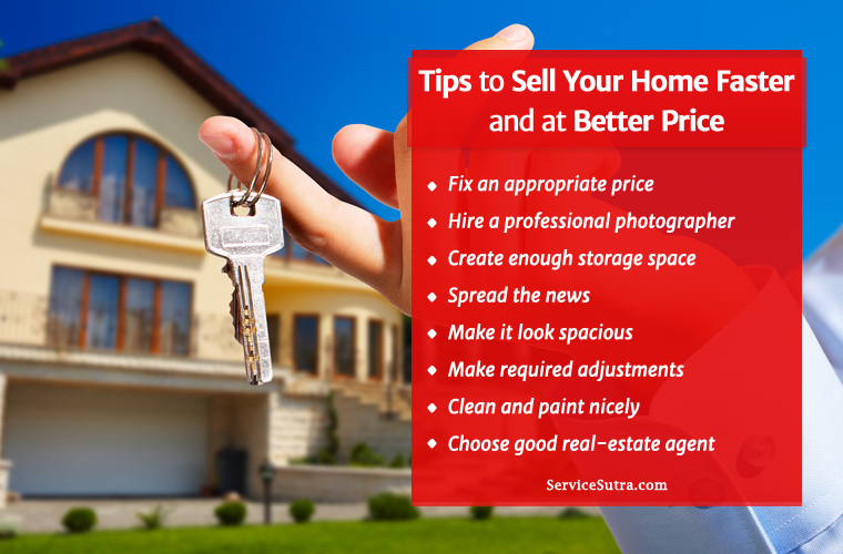 Tips to Sell Your Home Faster and at Best Price