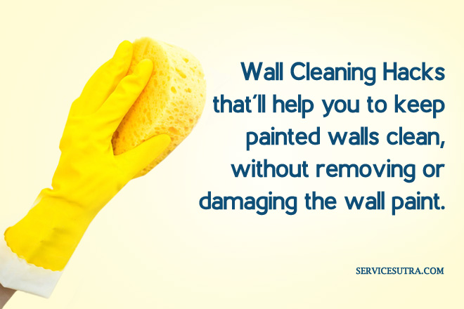 How To Keep Painted Walls Clean Without Removing Paint