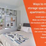 How to Maximize Storage Space in Small Apartments and Flats