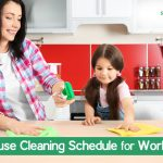 Weekly House Cleaning Schedule for Working Moms That Actually Work