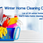 Ultimate Winter Home Cleaning Checklist That'll Make Cleaning Super Easy